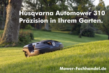 husqvarna automower 310 m hroboter roboter rasenm her mower. Black Bedroom Furniture Sets. Home Design Ideas